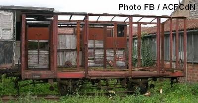Le wagon couvert tel qu'il était en septembre 2003